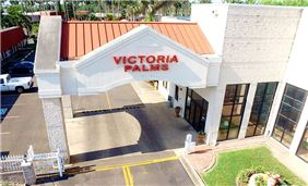 Victoria Palms Inn & Suites Entrance