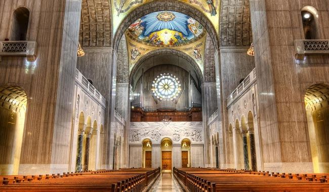 Basilica of the National Shrine of Our Lady of San Juan del Valle in Texas