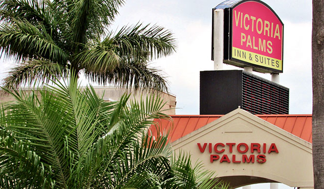 Victoria Palms Inn & Suites, Donna Restaurant