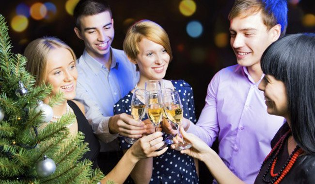 Holiday Parties at Donna Hotel